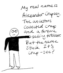 Adventures of Dr AC my real name 2